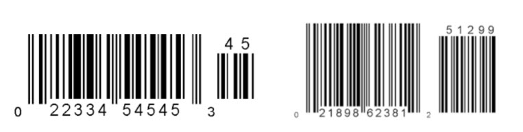 How to identify a barcode symbology Part 1: UPC codes